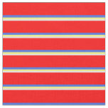 [ Thumbnail: Light Cyan, Yellow, Royal Blue, and Red Colored Fabric ]