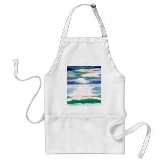 Light Dance on the Sea CricketDiane Ocean Art Adult Apron