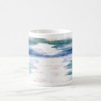 Light Dance on the Sea CricketDiane Ocean Art Coffee Mug