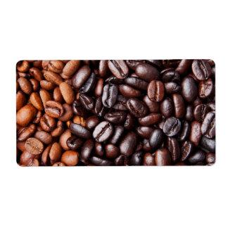 Light & Dark Roast Coffee Beans - Customized Blank Label