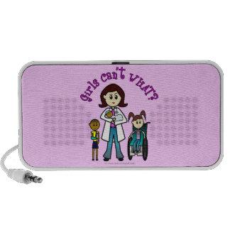 Light Doctor Girl iPhone Speaker