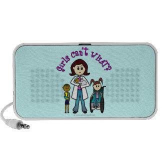 Light Doctor Girl Mp3 Speakers