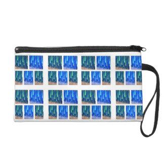 Light drops wristlet purse