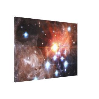 Light Echo Around V838 Monocerotis Canvas Print