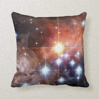 Light Echo Around V838 Monocerotis Throw Pillow