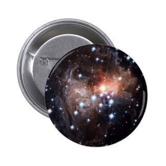Light Echo from Star V838 2 Inch Round Button