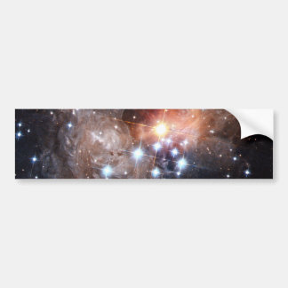 Light Echo from Star V838 Car Bumper Sticker