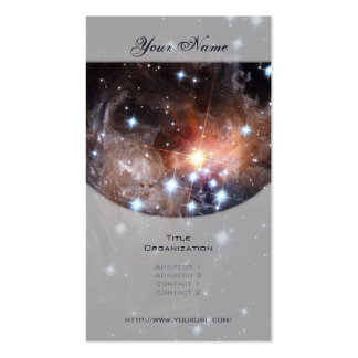 Light Echo from Star V838 Business Card Templates