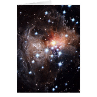 Light Echo from Star V838 Greeting Card