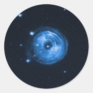 Light Echo From Star V838 Monocerotis Classic Round Sticker