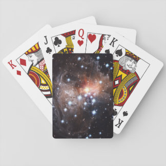 Light Echo from Star V838 Playing Cards