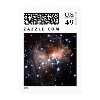 Light Echo from Star V838 Postage Stamps