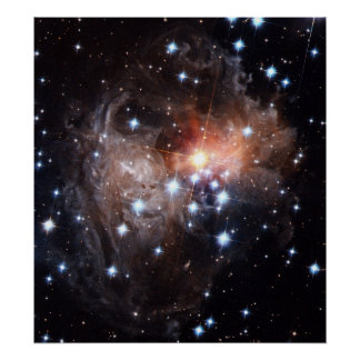 Light Echo from Star V838 Posters