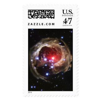 """""""Light Echo"""" Illuminates Dust Near Supergiant Star Postage"""