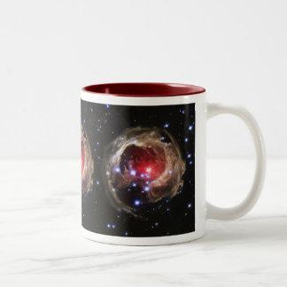 """Light Echo"" Illuminates Dust Near Supergiant Star Two-Tone Coffee Mug"