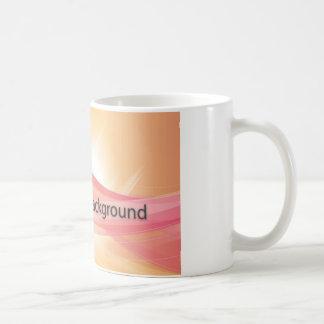 Light effect background coffee mugs