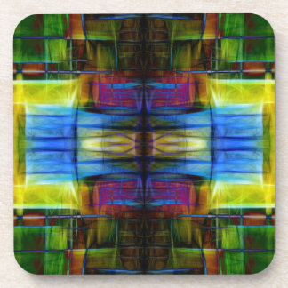 Light-Effect Sci-Fi Abstract Coasters