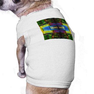 Light-Effect Sci-Fi Abstract Doggie Tee