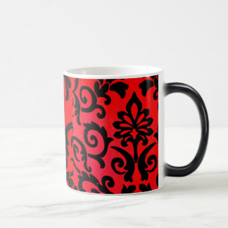 Light Effect Symbols Black and Red Morphing mug