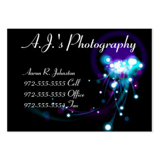 Light Effects Business Cards