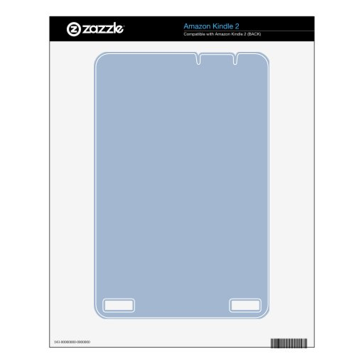 Light eggshell blue decal for kindle