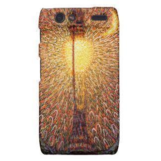 Light Explosion Art Droid RAZR Cover