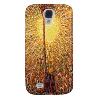 Light Explosion Art Galaxy S4 Case