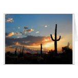 Light Fades in a Blaze Greeting Card