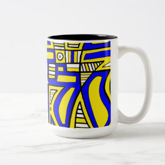 Light Fair-Minded Yes Positive Two-Tone Coffee Mug
