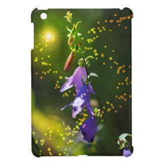 Light Fairy and Purple Wildflower - Art Style iPad Mini Cover