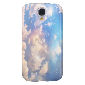 Light Fantasy Clouds Samsung Galaxy S4 Case