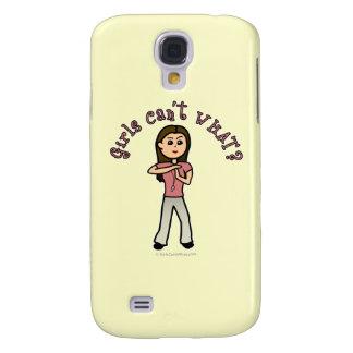 Light Female Coach Samsung Galaxy S4 Case