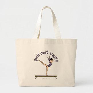 Light Female Gymnast on Balance Beam Bags
