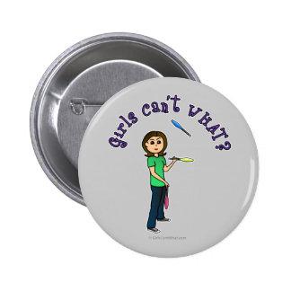 Light Female Juggler Pin