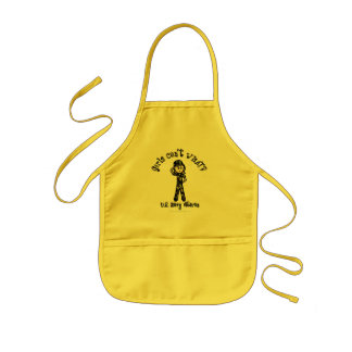 Light Female Navy Veteran Kids' Apron
