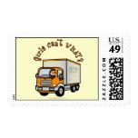 Light Female Truck Driver Postage