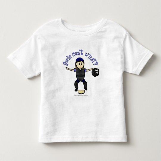 Light Female Umpire Toddler T-shirt