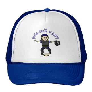 Light Female Umpire Trucker Hat