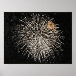 Light Fireworks Print