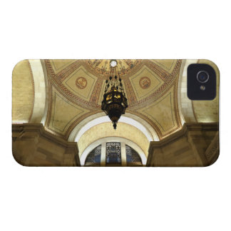 Light Fixture In LA City Hall iPhone 4 Covers
