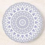 Light Flake Mandala Coaster