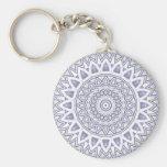Light Flake Mandala • Keychain