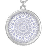 Light Flake Mandala Necklace