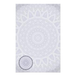 Light Flake Mandala • Stationery