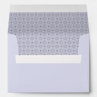 Light Flake Pattern Envelope
