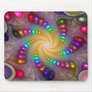 Light Flame Abstract 288a' Mouse Pad