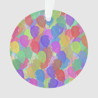 Light Floating Colorful Balloons