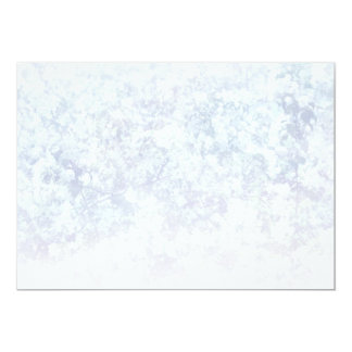 Light Floral Texture Background Template 5x7 Paper Invitation Card