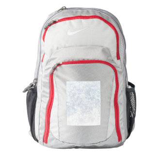 Light Floral Texture Background Template Backpack