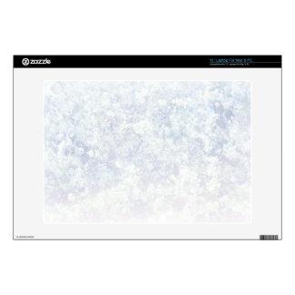 Light Floral Texture Background Template Laptop Skins